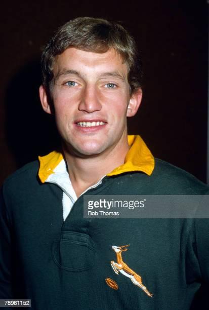 circa 1980's International Rugby John RobbieSouth Africa the former Ireland and British Lion international