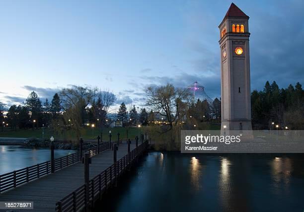 spokane - riverfront park spokane - fotografias e filmes do acervo