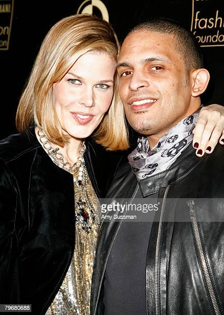 Spokesperson Mary Alice Stephenson and Jay Bell of Barneys attend the afterparty for Ecco Domani Fashion Foundation 2008 winners at Suzie Wong's on...