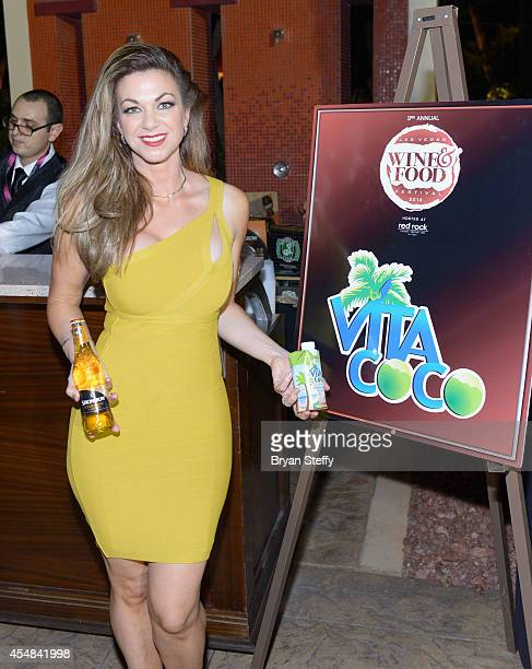 Spokeswoman Jennifer Kaiser attends the Las Vegas Food and Wine Festival at the Red Rock Casino Resort and Spa on September 6 2014 in Las Vegas Nevada