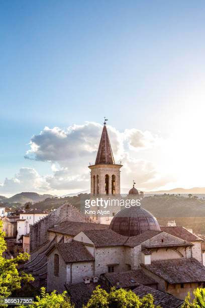 spoleto - umbria stock pictures, royalty-free photos & images