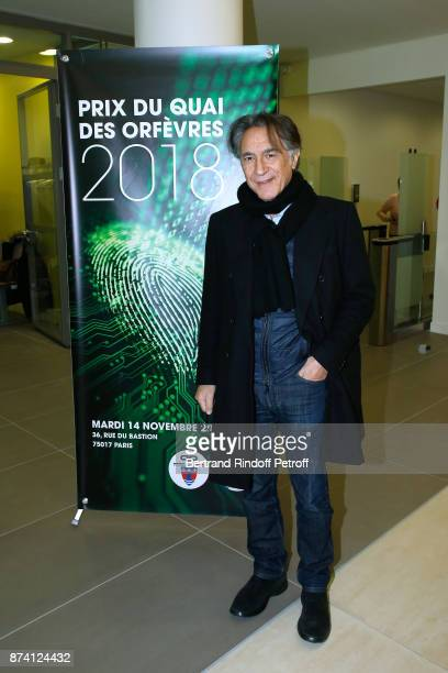 Sponsor of the 2018 Prize Richard Berry attends Sylvain Forge wins the '71eme Prix du Quai des Orfevres 2018' for his Book 'Tension Extreme' Held for...