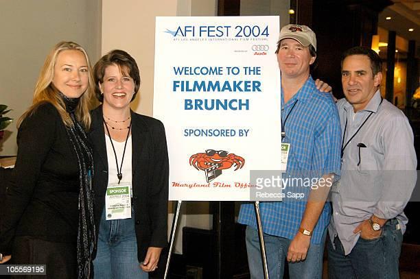 Sponsorship Coordinator of AFI Film Festival Daniele Neuharth, Catherine Batavick, Jack Gerbes and Rick Schaeffer all of The Maryland Film Office