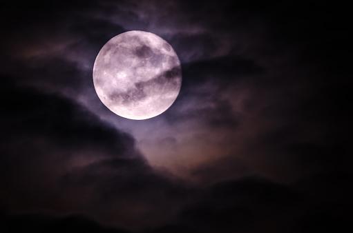 Spooky moon - gettyimageskorea