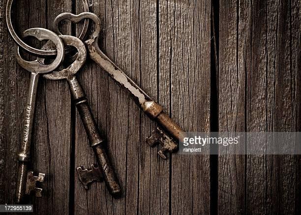 Spuk Skelett Schlüssel