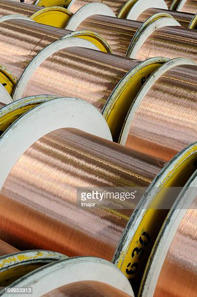 Spools Of Copper Wire