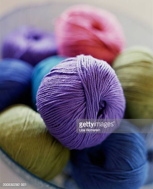 spools of yarn - monrovia california stock pictures, royalty-free photos & images