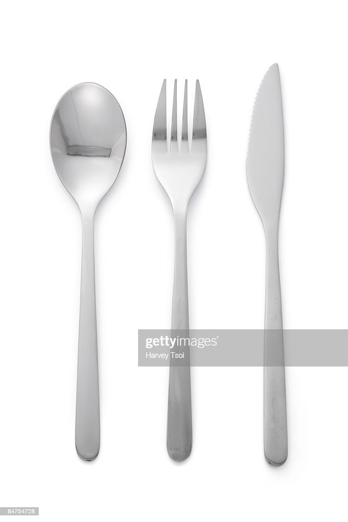Spoon Fork Knife : Stock-Foto