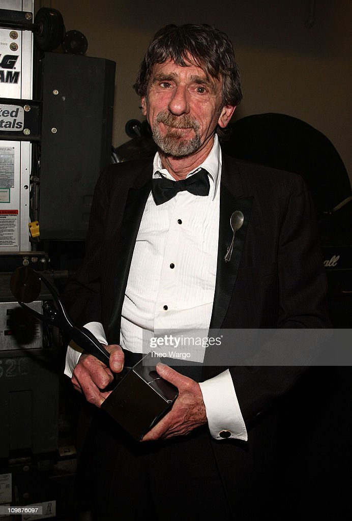 Spooner Oldham in the pressroom at the 24th Annual Rock and Roll Hall of Fame Induction Ceremony at Public Hall on April 4, 2009 in Cleveland, Ohio.