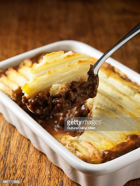Spoonful of cottage pie