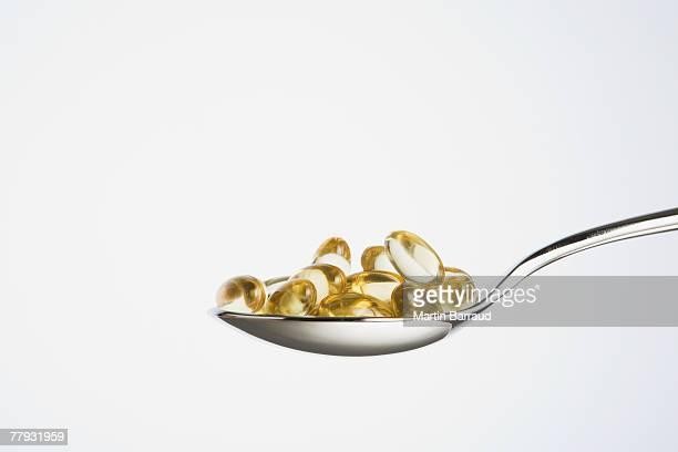 Cucchiaino di cibo di pillole