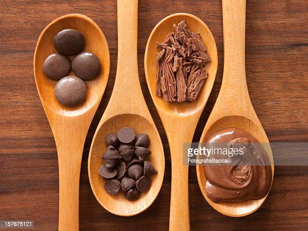Spoons and chocolates
