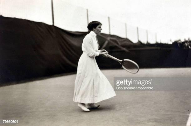 Sport, 1912 Olympic Games, Stockholm, Sweden, Tennis, Sigrid Fick, Sweden, fourth in the Womens Singles, , She partnered Sweden's Gunnar Setterwall...
