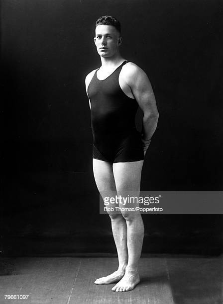 Sport, 1920 Olympic Games, Antwerp, Belgium, Swimming, Norman Ross, U,S,A, the Mens 400 metres Freestyle Gold medal winner, He also won gold in the...