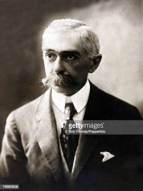 Sport 1924 Olympic Games Paris France Baron Pierre de Coubertin who regarded as the 'Father' of the Modern Olympics and was IOCPresident from 18961925