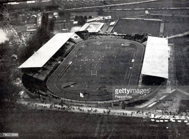 Sport 1924 Olympic Games Paris France The Stade de Colombes venue for all the main events of the 1924 Olympic Games
