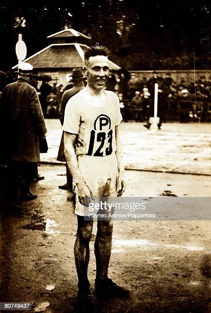 Sport 1928 Olympic Games Amsterdam The 5000 metres Olympic Champion Willie Ritola Finland 1928