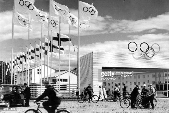 Sport 1952 Olympic Games in Helsinki The Olympic Village