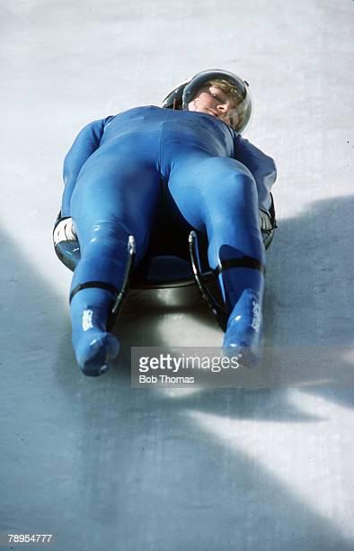 Sport 1988 Winter Olympic Games Calgary Canada Ladies Luge