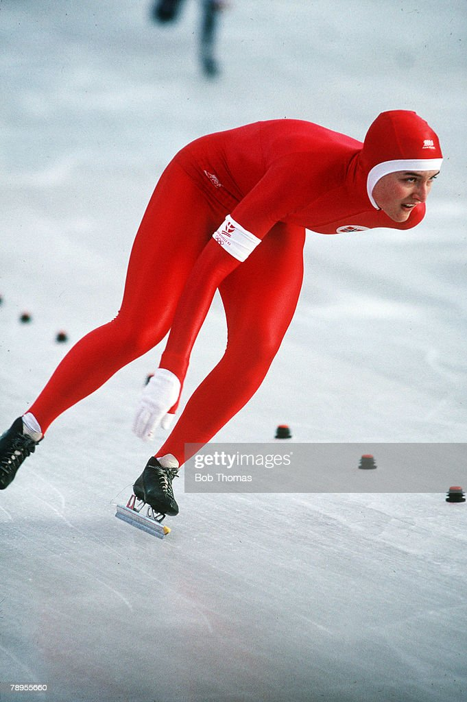Sport. 1992 Winter Olympic Games. Albertville, France. Womens Speed ...