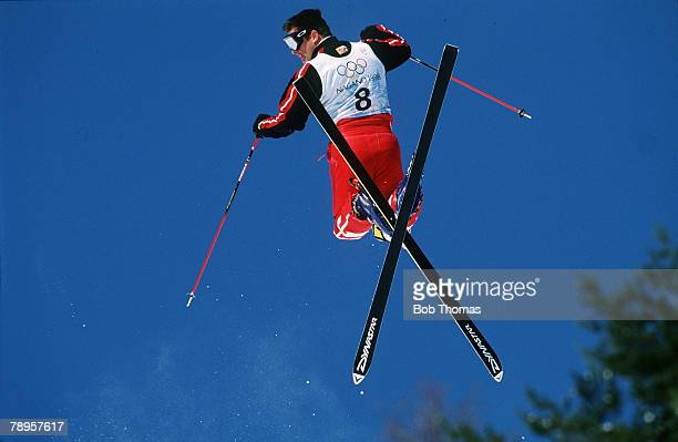 Sport 1998 Winter Olympic Games Nagano Japan Freestyle Skiing Moguls illustration