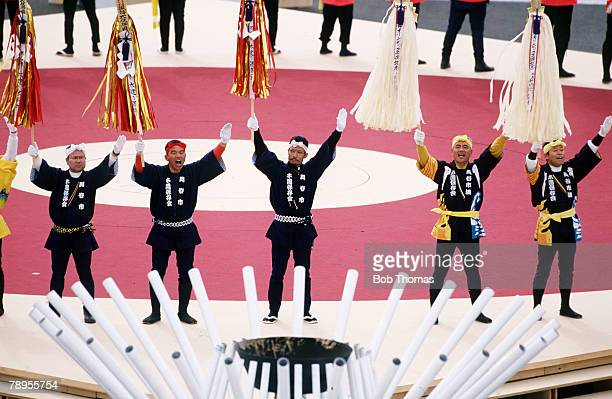 Sport, 1998 Winter Olympic Games, Nagano, Japan, The Opening Ceremony