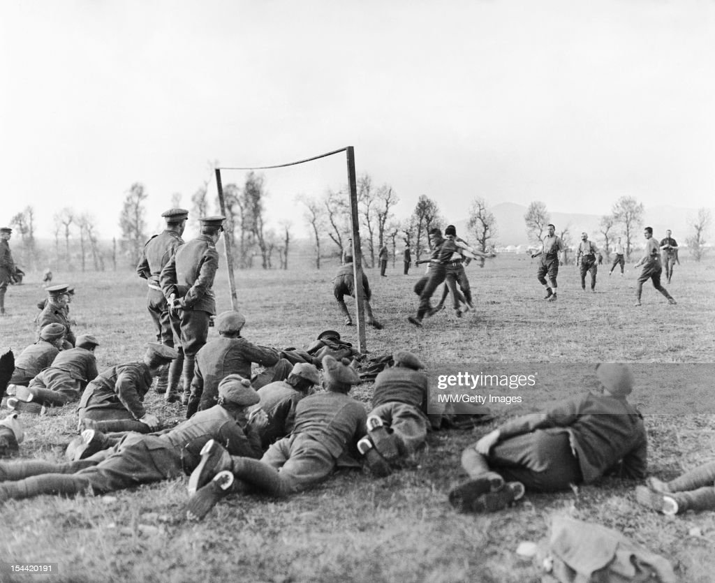 Sport and Leisure In The British Army During The First World War : News Photo