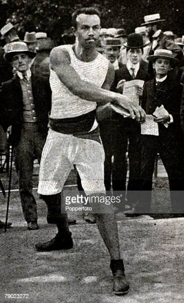 Sport, Athletics, 1900 Olympic Games, Paris, France, Mens Discus Gold medal winner, Rudolf Bauer of Hungary