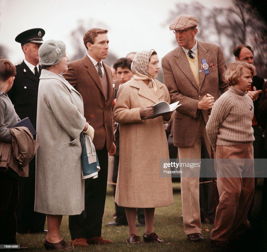Royal Family At Badminton : News Photo