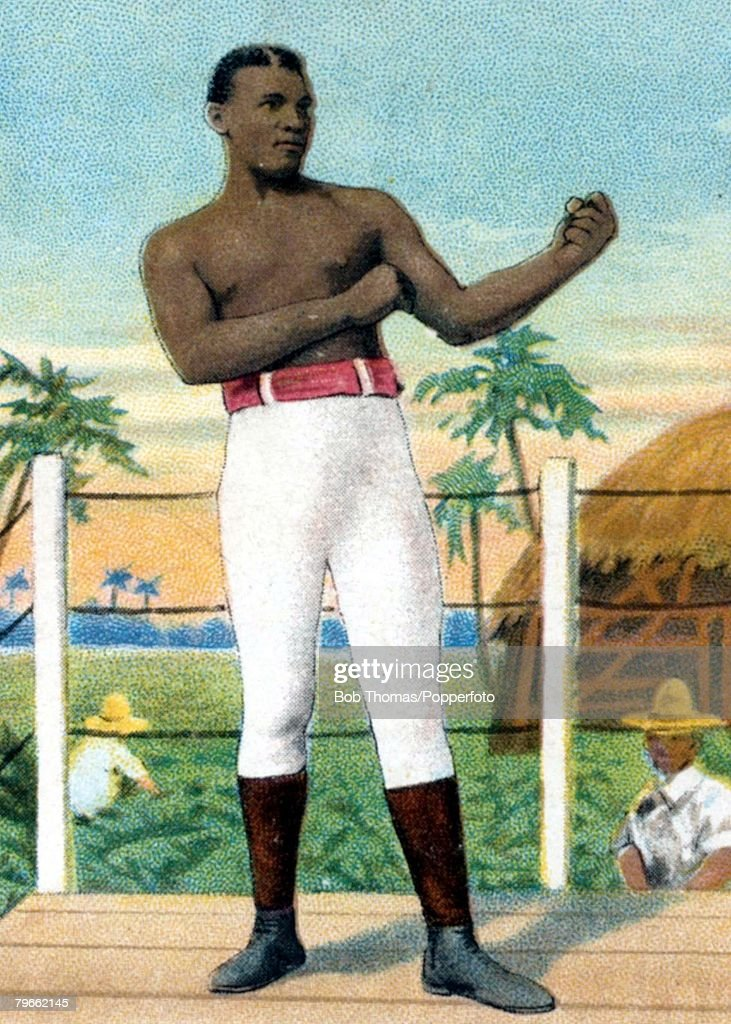Sport, Boxing, Cigarette card, 19th Century, Peter Jackson, West Indies,who started his career in Australia in the 1880's and moved on to fight in the U,S,A,in the late 1880's