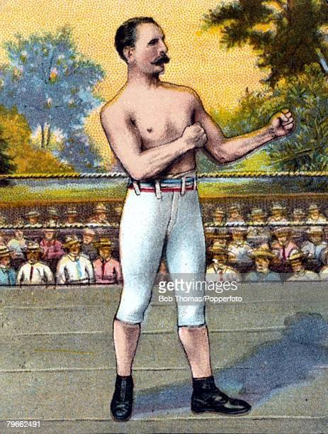 Sport Boxing Cigarette card Billy Edwards English born Lightweight one of the most famous boxers of his time a bare knuckle fighter who was prominent...