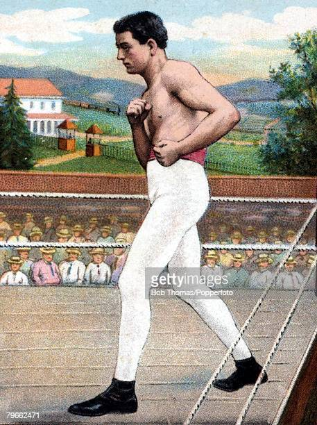 Sport Boxing Cigarette card Kid McCoy Middleweight boxer who fought in the early 1900's