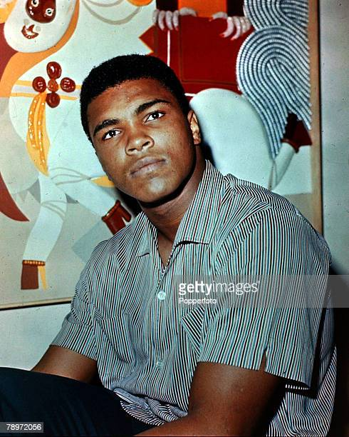 1970 Muhammad Ali pictured in New York Muhammad Ali was World Heavyweight boxing champion 3 times from 19641978