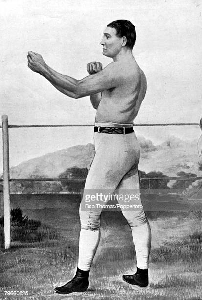 circa 1855 Tom Sayers who was Champion of England one of the graetest bare knuckle fighters England produced He had many great victories but suffered...