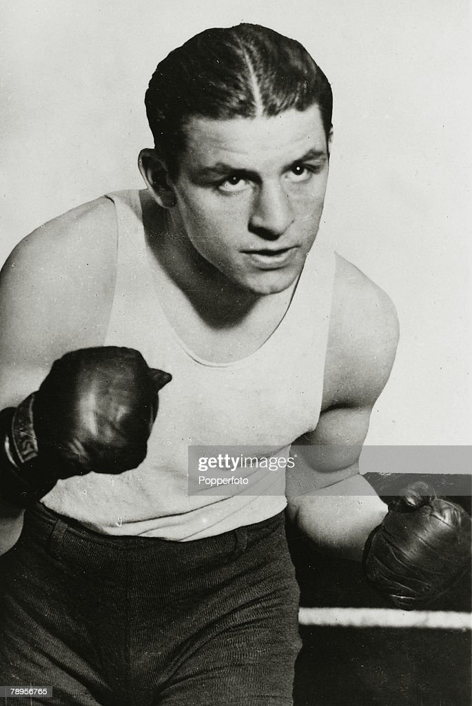 Sport. Boxing. pic: circa 1936. Jack 'Kid' Berg, Great Britain, the World Lightweight Champion 1934-1936.