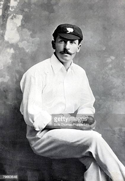 Sport Cricket Circa 1895 Frank William Milligan Yorkshire