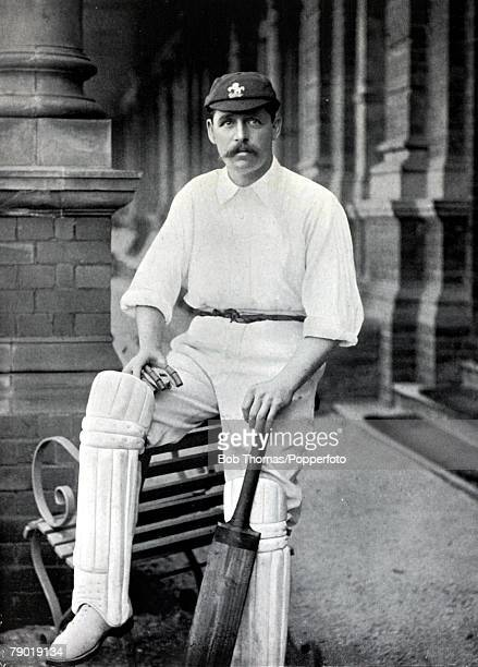 Sport Cricket Circa 1895 George Gibbons Hearne Kent and England one of a large cricketing family