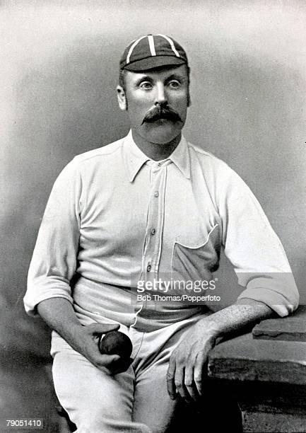Sport Cricket Circa 1895 John Thomas Rawlin Yorkshire Middlesex and the Vernon tour to Australia