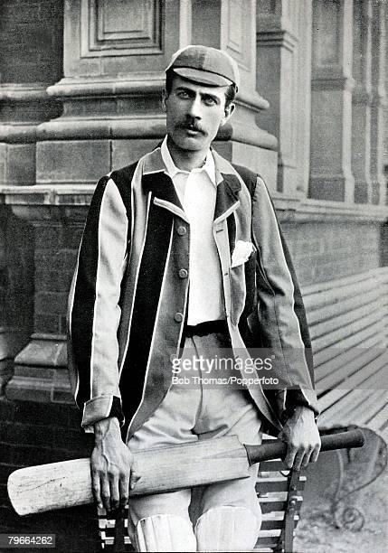Sport Cricket Circa 1895 Reginal William Rice Gloucestershire also an Oxford Blue in 1893