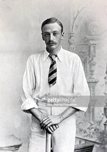 Sport, Cricket, Circa 1895, Rev, Clement Eustace Macro Wilson, Cambridge University,, Blue all four years, also played for Yorkshire,