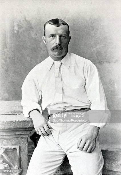 Sport Cricket Circa 1895 Robert Peel Yorkshire and England