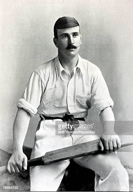 Sport Cricket Circa 1895 Walter Troup played for Gloucestershire from 18871911 he succeeded WGGrace as County captain
