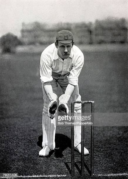 Sport Cricket Circa 1895 William Storer Derbyshire wicketkeeper and middle order batsman from 18871905 he also played for England 18971899