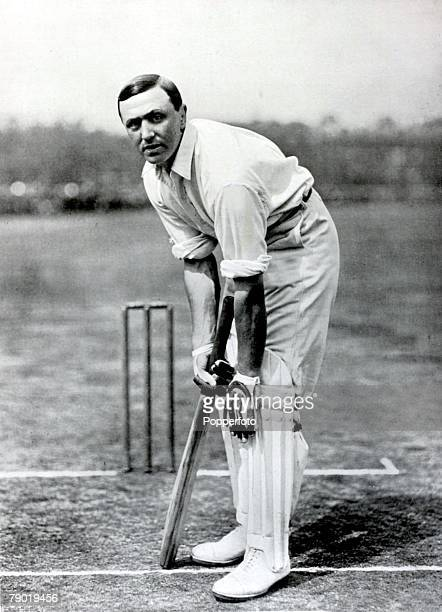 Sport, Cricket, Circa 1900, Frank Mitchell, Yorkshire, , He played for both England and South Africa, captaining the latter in 3 Tests, He also...