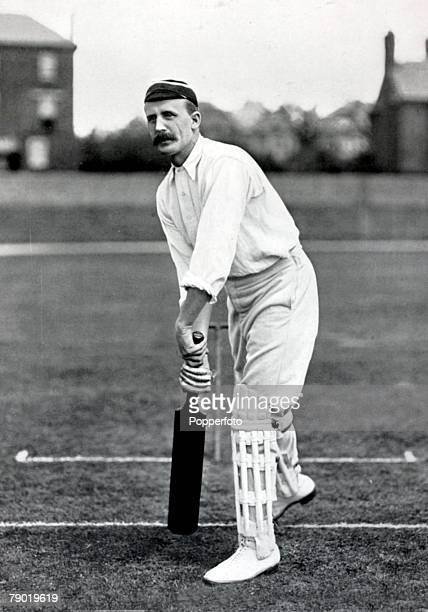 Sport Cricket Circa 1900 John Auger Dixon Nottinghamshire He made 268 runs v Sussex in 1897 and played football for Notts County and England