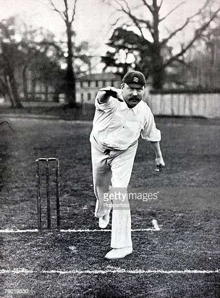 Sport, Cricket, Circa 1900, John Thomas Rawlin, Middlesex,