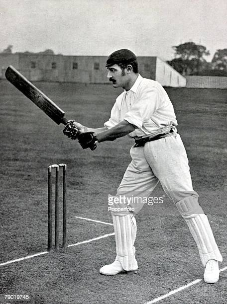 Sport Cricket Circa 1900 Levi George Wright Derbyshire He hit 1000 runs in a season 6 times and was also a useful footballer playing for both Derby...