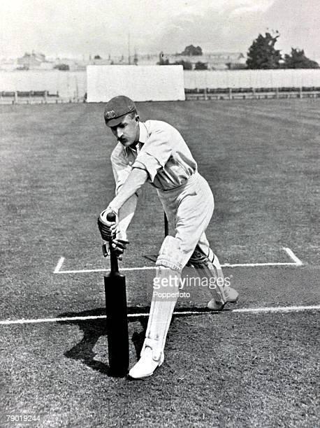 Sport Cricket Circa 1900 Richard Cameron North Palairet Somerset
