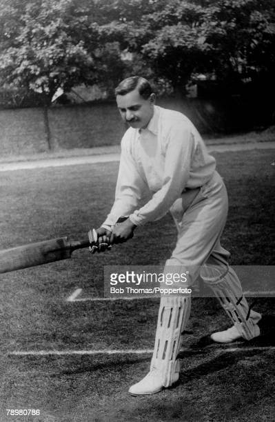 Sport Cricket circa 1905 Kumar Shri Ranjitsinhji An Amateur a fine middle order right hand batsman and slow right arm bowler He played for Sussex in...