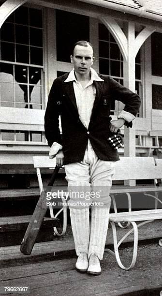 Sport Cricket Circa 1920 Rev Canon Frank Hay Gillingham Essex